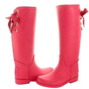 Coach Tristee waterproof & trendy rain boots!